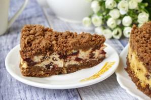 Творожный торфяной пирог с черносливом - фото шаг 8