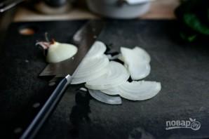 Фриттата из шпината и грибов - фото шаг 1