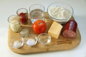 Студенческая пицца - фото шаг 1