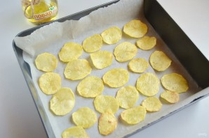 Хрустящие картофельные чипсы  - фото шаг 8