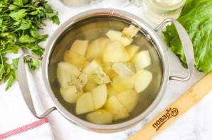 Суп из копченой семги - фото шаг 2