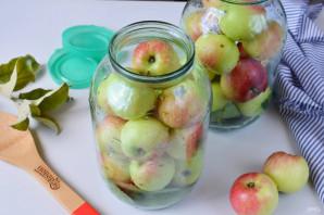 Яблоки, моченые на зиму - фото шаг 4