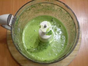 Зеленый коктейль с укропом - фото шаг 4