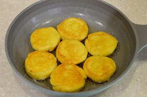 Сырники с творожным сыром - фото шаг 8