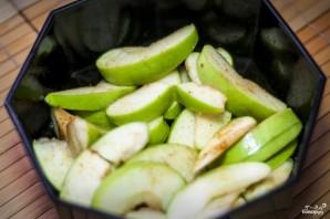 Яблочный салат - фото шаг 3