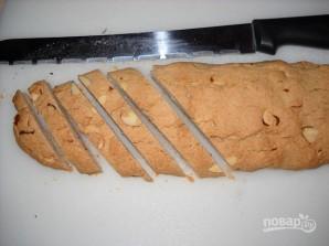 Бискотти с миндалем и клюквой - фото шаг 6