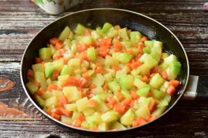 Овощное рагу с томатной пастой - фото шаг 4