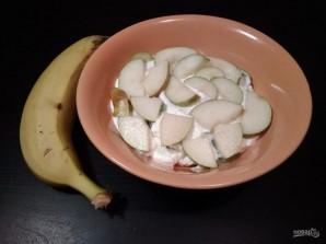 Десерт из творога и фруктов - фото шаг 6