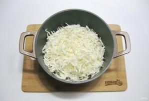 Рис с капустой и мясом - фото шаг 8