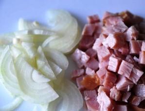 Салат в заварных булочках - фото шаг 1