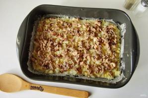 Заливной пирог с рыбой и картошкой - фото шаг 8