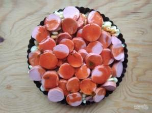Сосиски под соусом с макаронами - фото шаг 8