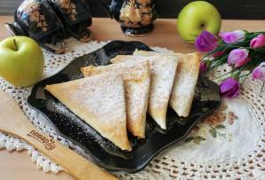 Ленивые пирожки с яблоками - фото шаг 10