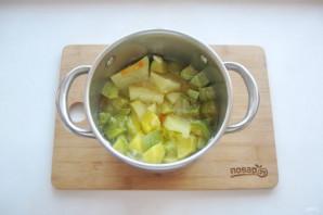 Диетический суп-пюре из кабачков - фото шаг 6