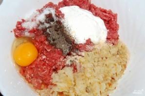 Котлеты с сыром и помидорами - фото шаг 4