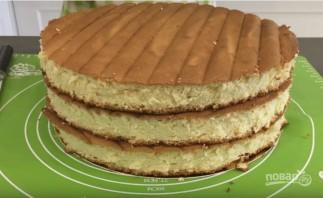 Свадебный торт в домашних условиях - фото шаг 7