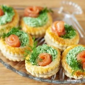 Тарталетки с лососем - фото шаг 4
