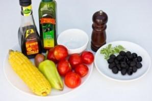 Салат к запеченному мясу - фото шаг 1
