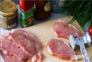 Эскалоп свиной в духовке - фото шаг 1