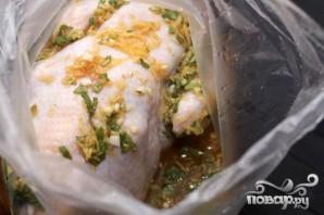 Курица с шалфеем в апельсиновом соусе - фото шаг 3