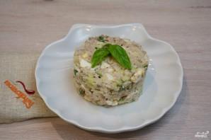 Рыбный салат из консервов - фото шаг 6