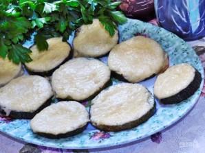 Закуска из кабачков с сыром и чесноком  - фото шаг 5