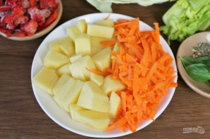 Овощной суп для диабетиков - фото шаг 2