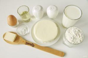 Хачапури для ленивых на сковороде с сыром - фото шаг 1