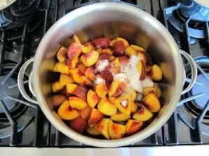 Варенье из персиков с сахаром - фото шаг 1