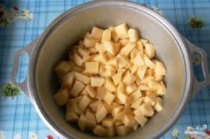 Овощное рагу со свининой и кабачками - фото шаг 4