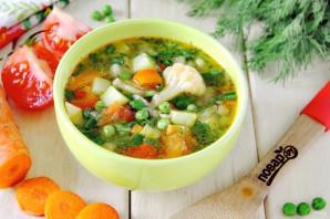 Летний овощной суп - фото шаг 10