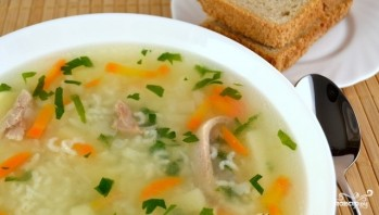 Суп с рисом и картошкой - фото шаг 13