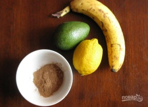 Шоколадный мусс с авокадо - фото шаг 1
