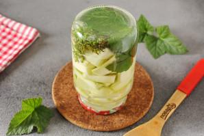 Маринованные кабачки с лимонной кислотой на зиму - фото шаг 6