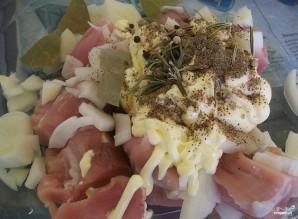 Запеченная картошка со свининой - фото шаг 3