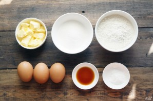 Масляный бисквит - фото шаг 1