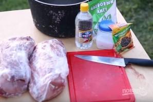 Шашлык из свинины с уксусом - фото шаг 1