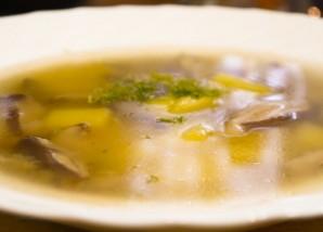 Грибной суп из маслят - фото шаг 10
