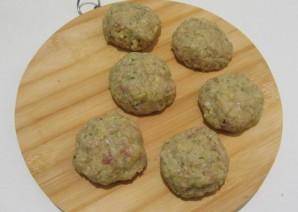 Картофельные котлеты с фаршем - фото шаг 5