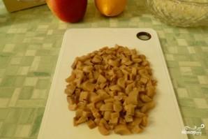 Салат с маринованными шампиньонами - фото шаг 2