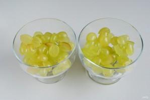 Виноградно-йогуртовое желе - фото шаг 5