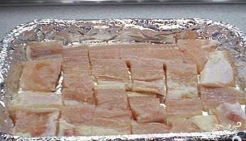 Морской окунь в фольге - фото шаг 6