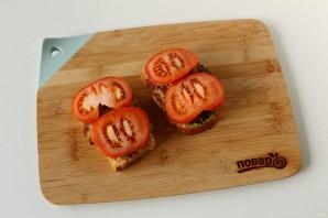 Сэндвич с котлетой - фото шаг 7