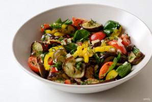 Грузинский салат с баклажанами - фото шаг 6