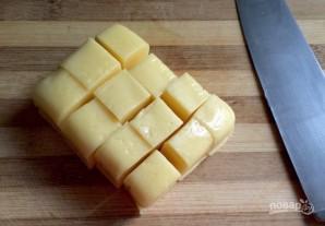 """Булочки с сыром """"Сюрприз"""" - фото шаг 2"""