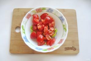 "Салат ""Лакомка"" из помидор на зиму - фото шаг 4"