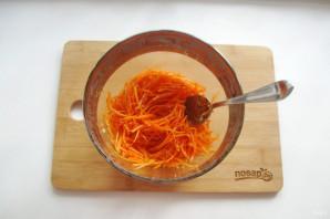 Морковь по-корейски с опятами - фото шаг 11