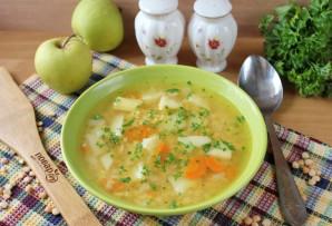 Гороховый суп с яблоками - фото шаг 8