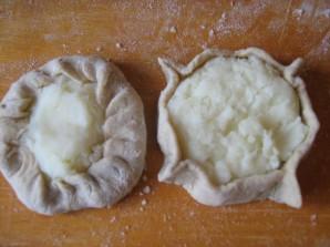 Калитки с картошкой - фото шаг 7