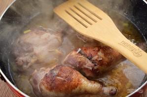 Жаркое из курицы с айвой - фото шаг 4